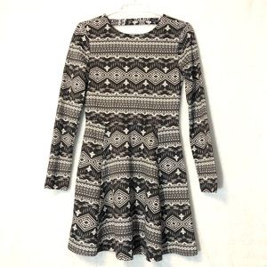 NWT H&M long-sleeve Skater Dress